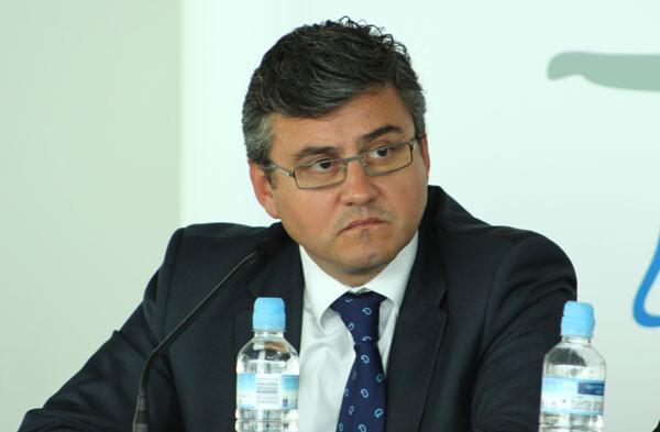 El concejal Cristóbal Grau en el acto de presentación. Foto: Javier Furió
