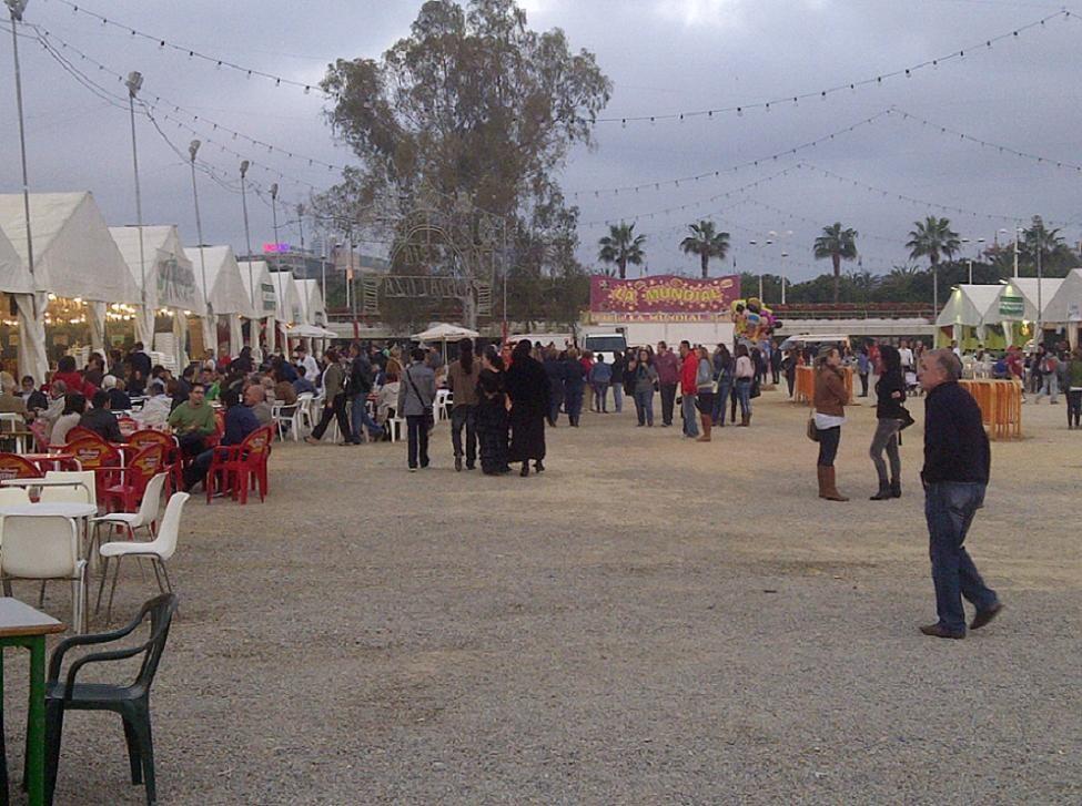 Aspecto de la Feria Andaluza que organiza la FECA/vlcciudad/p.varea