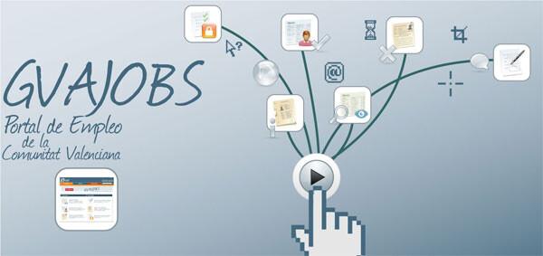 GVA Jobs, el portal de empleo de la Generalitat Valenciana