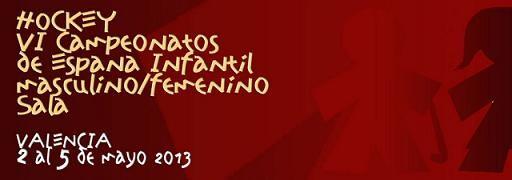 Cartel oficial del campeonato que tendrá lugar en los polideportivos del Cabanyal y la Malvarrosa/fed. de hockey