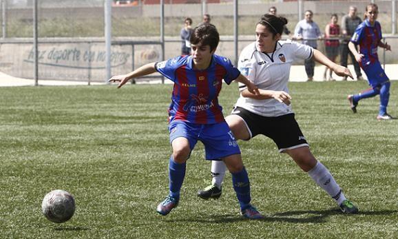 Alba durante una jugada del encuentro disputado en Beniferri/Jorge Ramirez