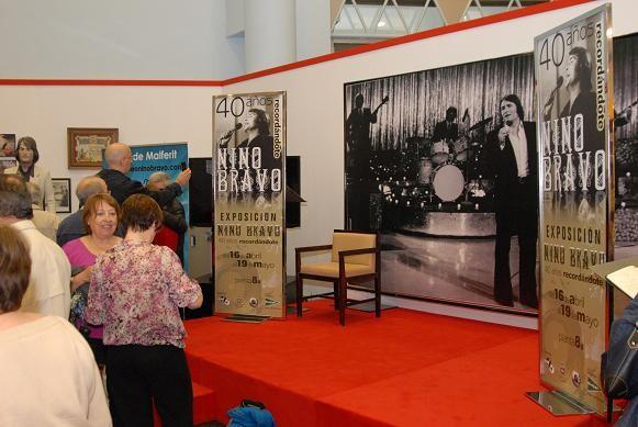 Un aspecto de la exposición inaugurada en el edificio de la Avenida de Francia/El Corte Inglés