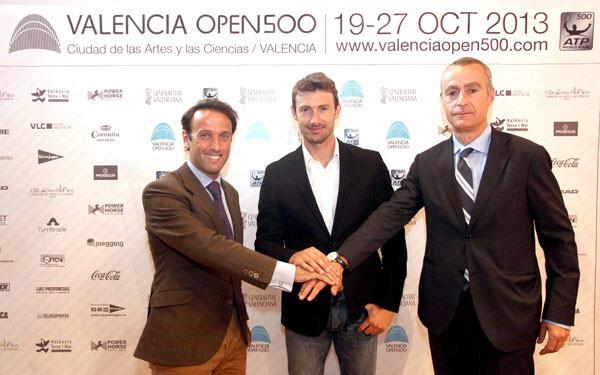 Presentación de la edición 2013 del Valencia Open 500
