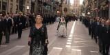 El cortejo procesional por la calle La Paz/artur part