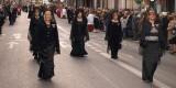 Las Honorables Clavariesas de la JCV de años pasados en la procesión/artur part