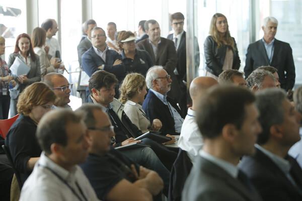 La presentación de la prueba mundial despertó expectación entre los aficionados y los medios de comunicación/M.Molines