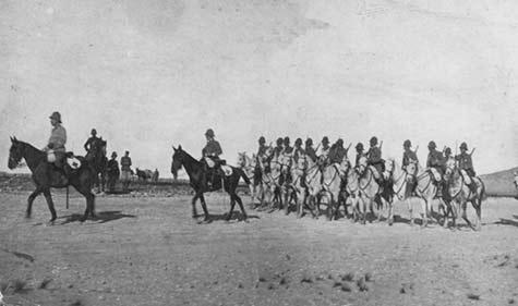 El Regimiento Alcántara a principios del pasado siglo/