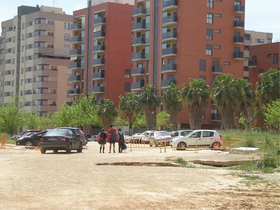 Solar de la calle Reina Violante de Campanar/c.a./elvecinal.es