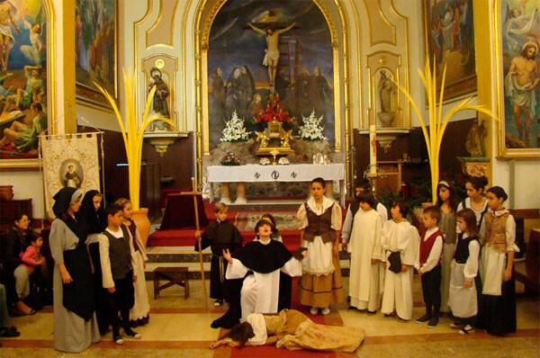 Representación del Altar del Tossal, el último ganador del concurso de Milacres. Foto: Ciberfallas.com