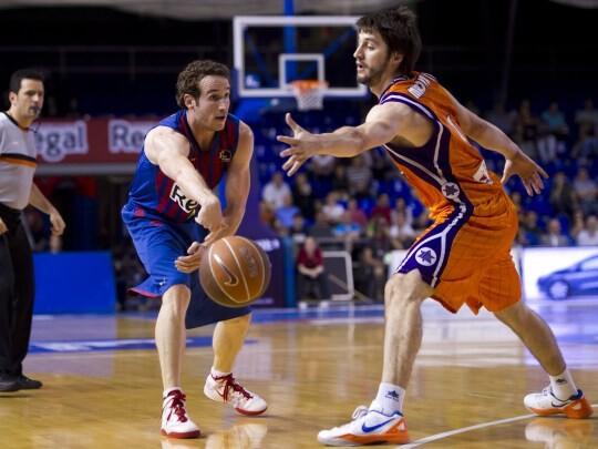 El Barça fue muy superior al Valencia Basket/ Acbphoto/Alex Caparrós