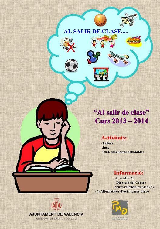Cartel de la campaña de 2014 de Al Salir de Clase