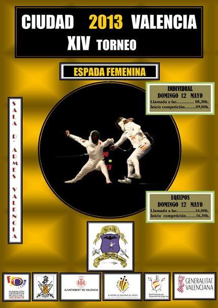 Cartel oficial de la competición que tendrá lugar en Benimaclet el domingo/sav