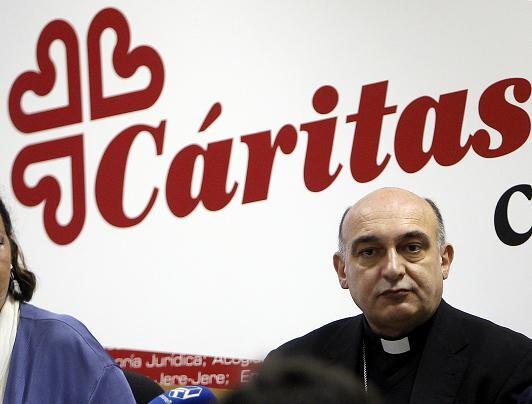El obispo de Tortosa, Enrique Benavent/alberto saiz