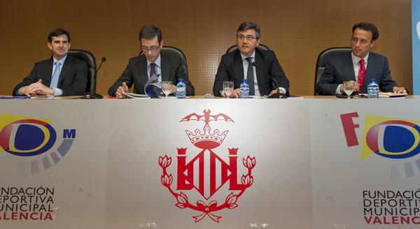 Presentación en el Complejo Deportivo La Petxina. Foto: Isaac Ferrera