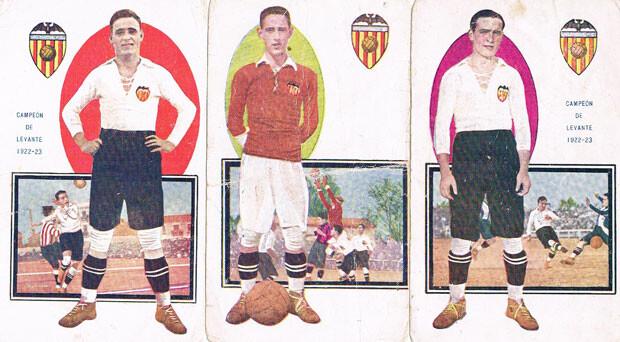 Jugadores del Valencia CF, 1922-1923. Foto: Archivo privado de Rafael Solaz.