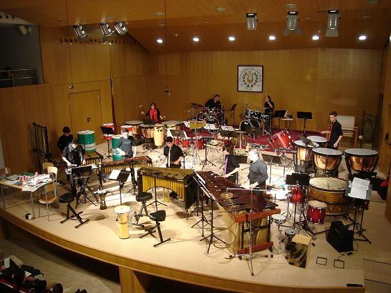 Escenario del Ateneo Musical del Puerto/amp