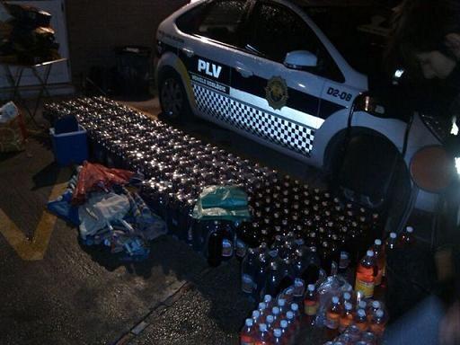 Decomiso que realizó la Policía Local en el barrio de Benimaclet/plv