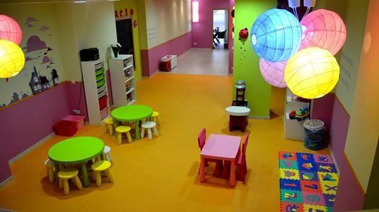 Interior del centro de ocio donde tiene lugar el taller de fotografía/vlcciudad