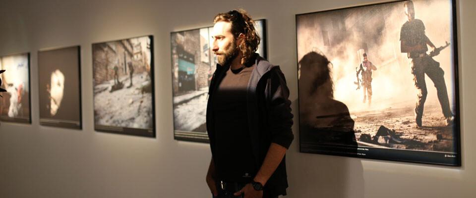 Manu Brabo en PhotOn 2013. Foto: JC Barberá