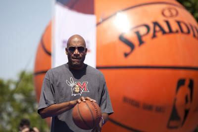 Holiday, uno de los componentes de la NBA 3X Tour