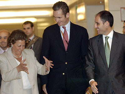 Rita Barberá, Urdangarín y Francisco Camps