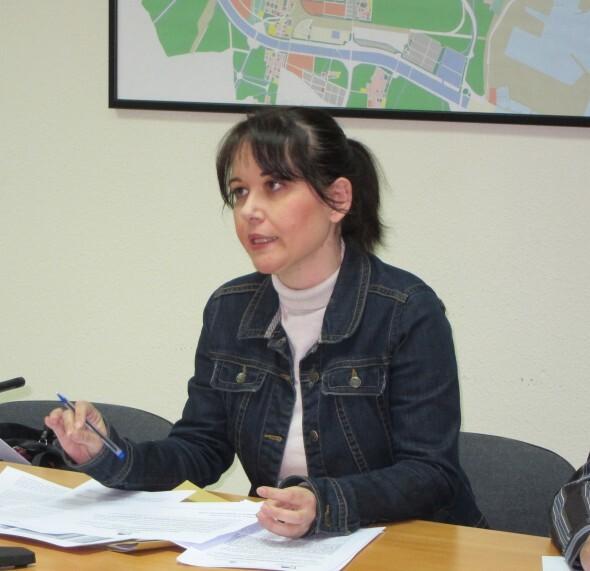 Rosa Albert, concejal de Esquerra Unida en el Ayuntamiento de Valencia/eu