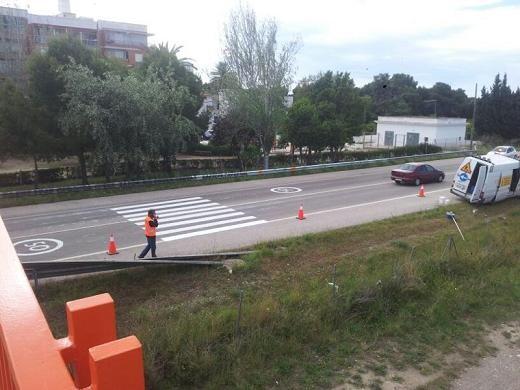 Cambio en la ordenación viaria de la carretera de El Saler/ascdemana