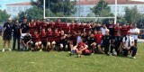 El equipo del CAU Valencia S-16 que se ha proclamado campeón/valecnia rugby