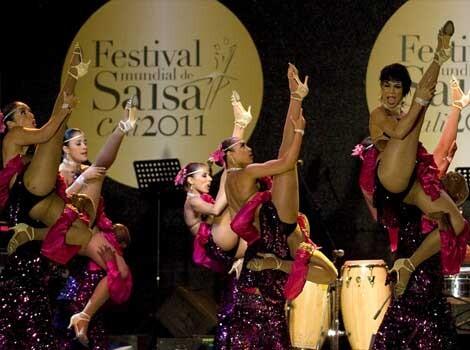Una de las actuaciones de la fundación durante el año pasado/fundación swing latino