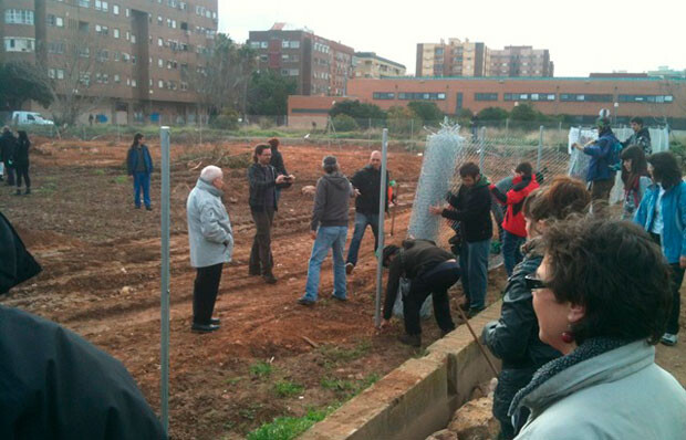 Los huertos urbanos de Beimaclet, paradigma de la acción vecinal en Valencia. Foto: VLC Ciudad