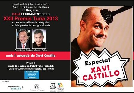 Cartel Premios Turia