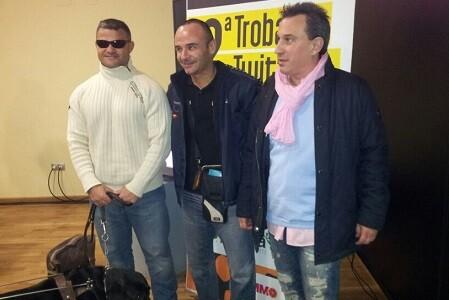 David Casinos, Ricardo Ten y Dj Victor Perez en II Hortatuits