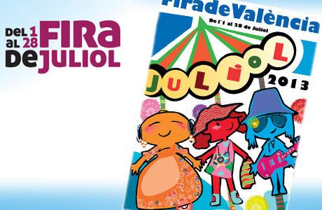 Cartel oficial de la Feria de Julio 2013