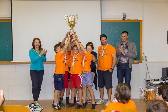 Los campeones de los IV Jocs Esportius de Vela/FVCV