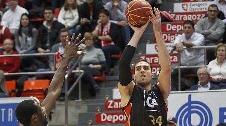 Valencia Basket. Pablo Aguilar. CAI Zaragoza