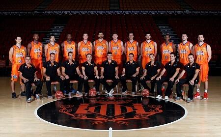 Valencia Basket. Plantilla 2012-2013