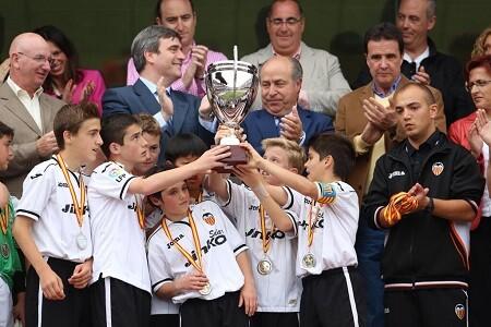 Valencia CF. Alevin. Subcampeones. Granada 2013