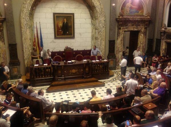 Aspecto de la Asamblea de Presidentes de Falla/a.part