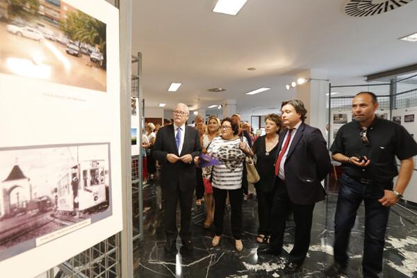 El edil Ramón Isidro Sanchis, la presidenta de la federación, María José Broseta y el subdelegado del Gobierno, Luis Santamaria/m,molines