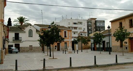 Zona peatonal de la pedania de Benimàmet/amigosdebenmàmet