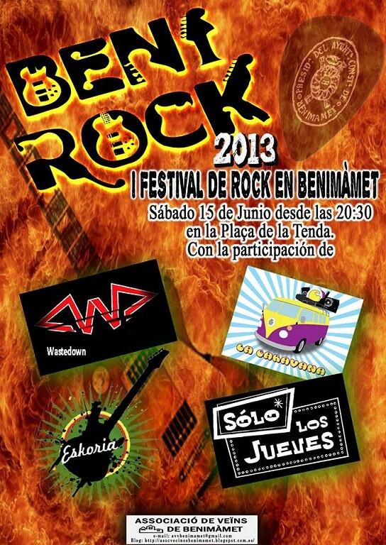 Cartel del concierto del próximo sábado/aavv benimámet