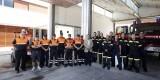 Voluntarios de Protección Civil y Bomberos en el parque de El Saler/ayto vlc