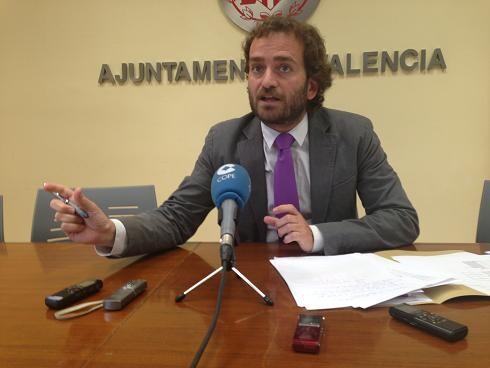 El viceportavoz socialista, Salvador Broseta/pspv