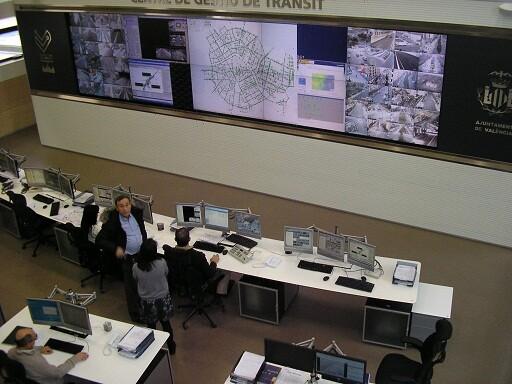 Centro de Gestión de Tráfico del Ayuntamiento de Valencia/paco varea