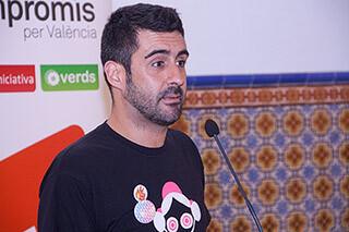 Pere Fuset, consejero de Compromís en el consejo rector de la JCF/compromís