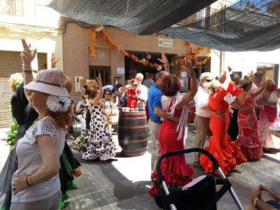 Un momento del acto dedicado a Andalucia celebrado el pasado domingo/hdad., ecce-homo