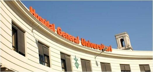 Fachada del Hospital General de Valencia/hgv