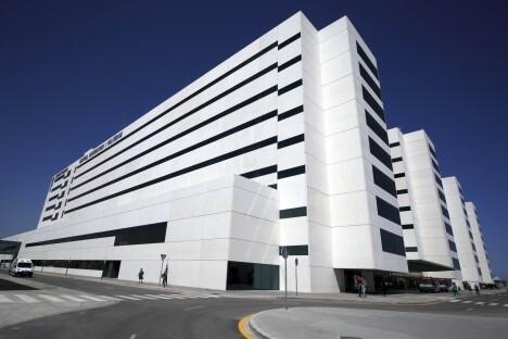 Uno de los pabellones del Hospital de La Fe ubicado en Malilla/gva