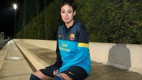 Leila Quahabi es un de los tres refuerzos del club blanquinegro
