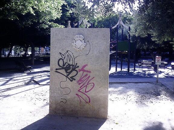 El monumento a las víctimas del metro que el próximo 3 de julio cumplirá siete años